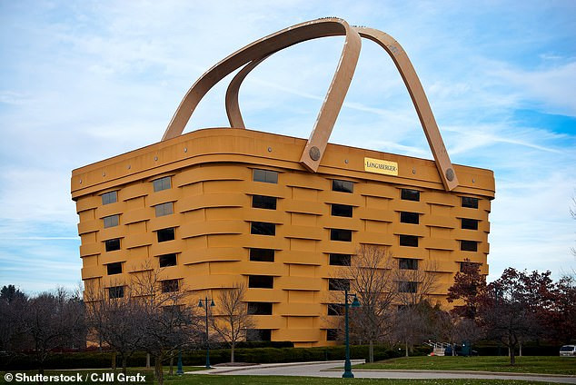 basket-shaped building
