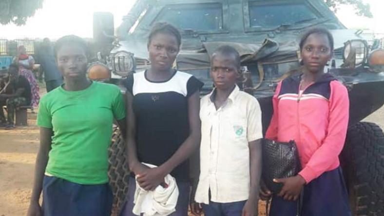 kidnapped schoolgirls released