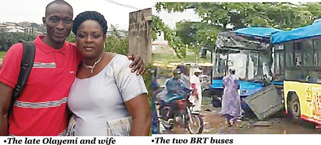 BRT driver killed