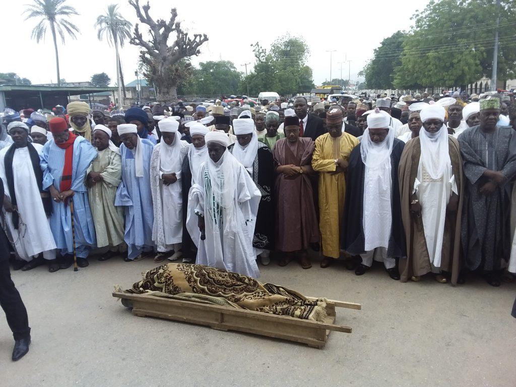 Tafawa Balewa's wife buried