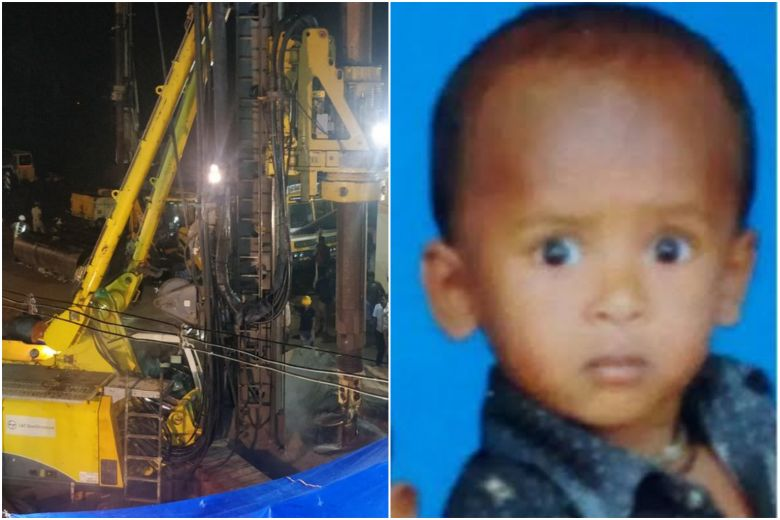 Sujith Wilson trapped in well