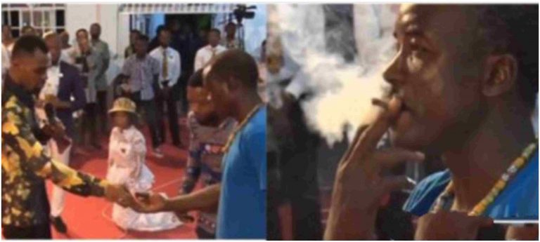 Pastor orders member to smoke weed inside church