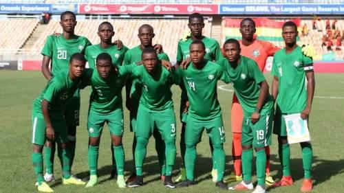 Nigerian U-17 World Cup Team