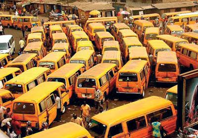 File photo: Lagos buses