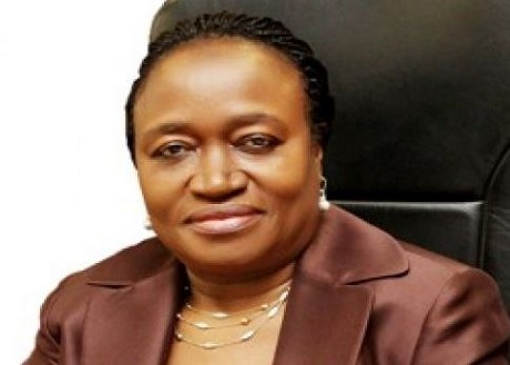 Former acting governor of Central Bank of Nigeria, Mrs Sarah Alade