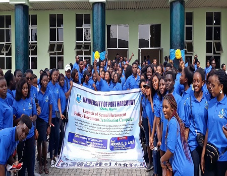 UNIPORT fights sexual harassment