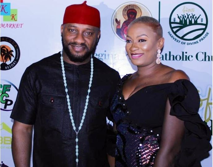 Yul Edochie and wife, Mary
