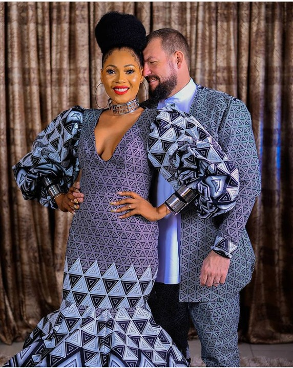 Nigerian woman and her oyinbo fiance