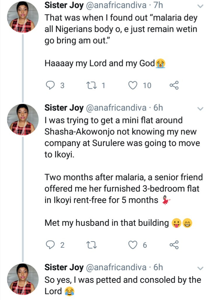 Nigerian writer shares story how God blessed her