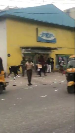 Xenophobia: South African Clothing Store, PEP Looted In Lagos