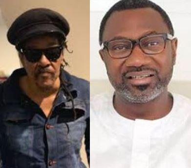 Femi Otedola and Majek Fashek