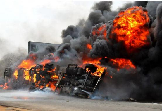 Tanker explosion