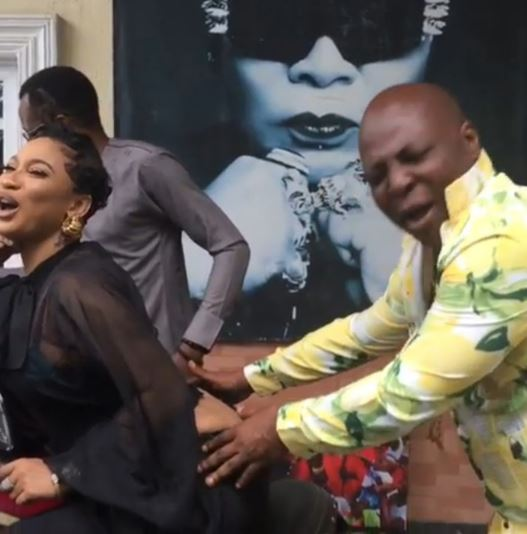 Tonto Dikeh, Charly Boy