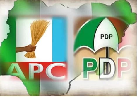 APC and PDP logos