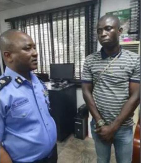 Port Harcourt alleged serial killer (right)