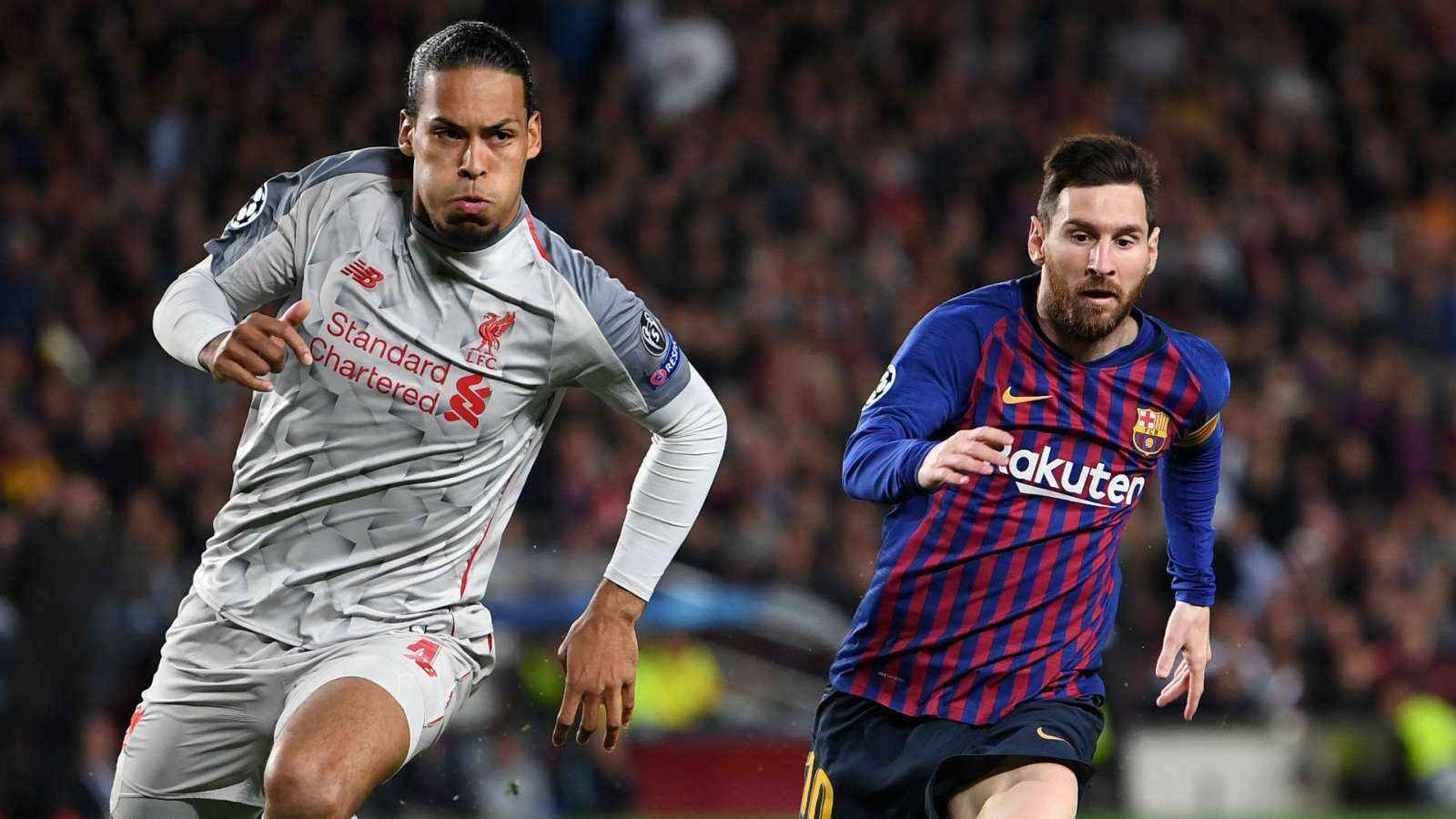 What Van Dijk Said About Messi After The Barcelona Star Won The FIFA Best Player Award