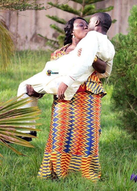 wife carries husband