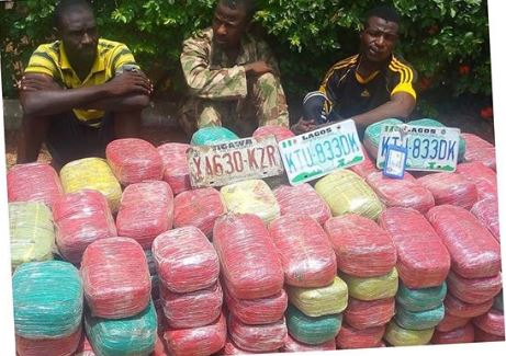 Indian Hemp smugglers