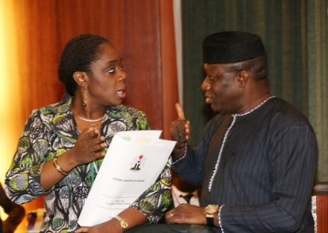 Kemi Adeosun and Kayode Fayemi