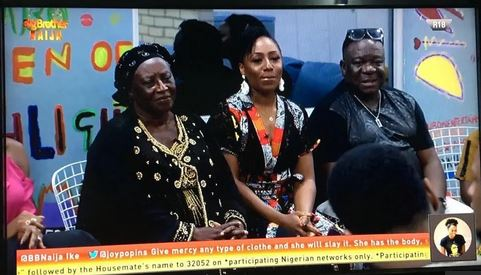 Nollywood stars in BBNaija