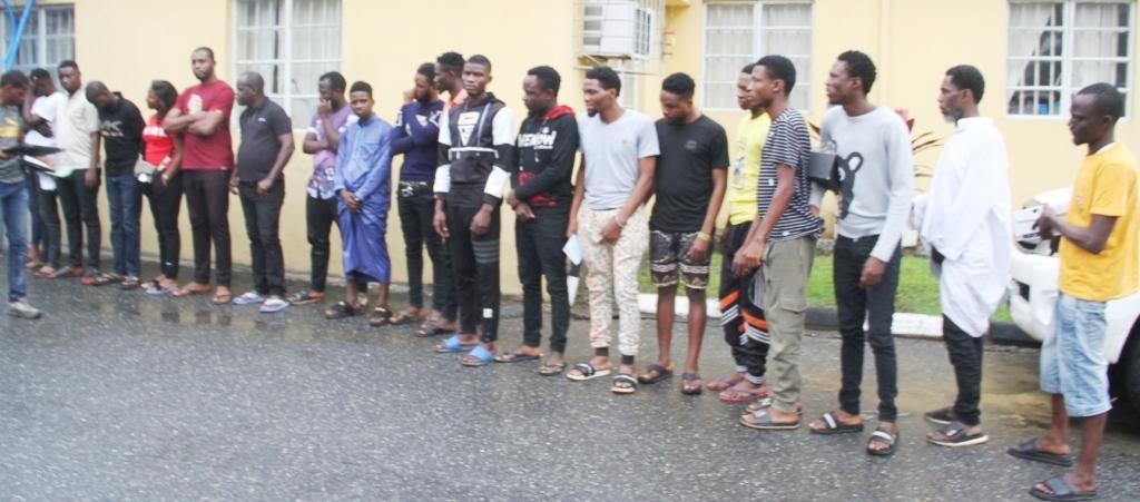 yahoo boys arrested