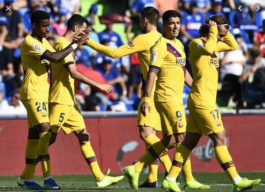 Barcelona wins Getafe