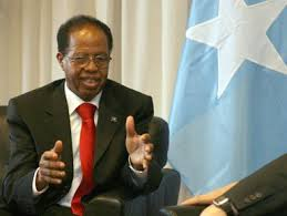 Somali prime minister, Nour Hassan Hussein Nour Adde