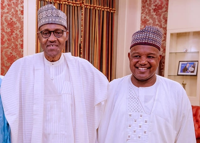 Buhari and Atiku Bagudu