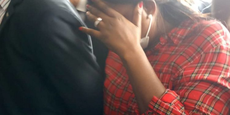 Funke Akindele in court today
