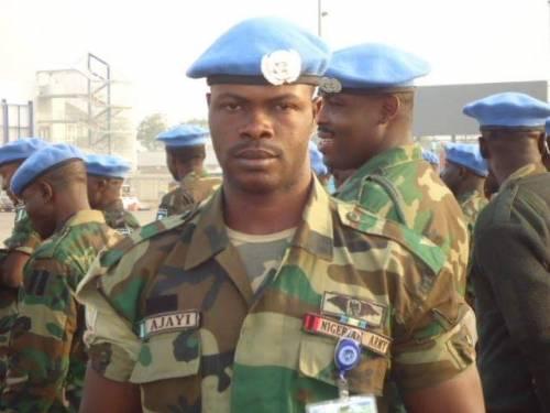 Sergeant Ilekura Samson Ajayi