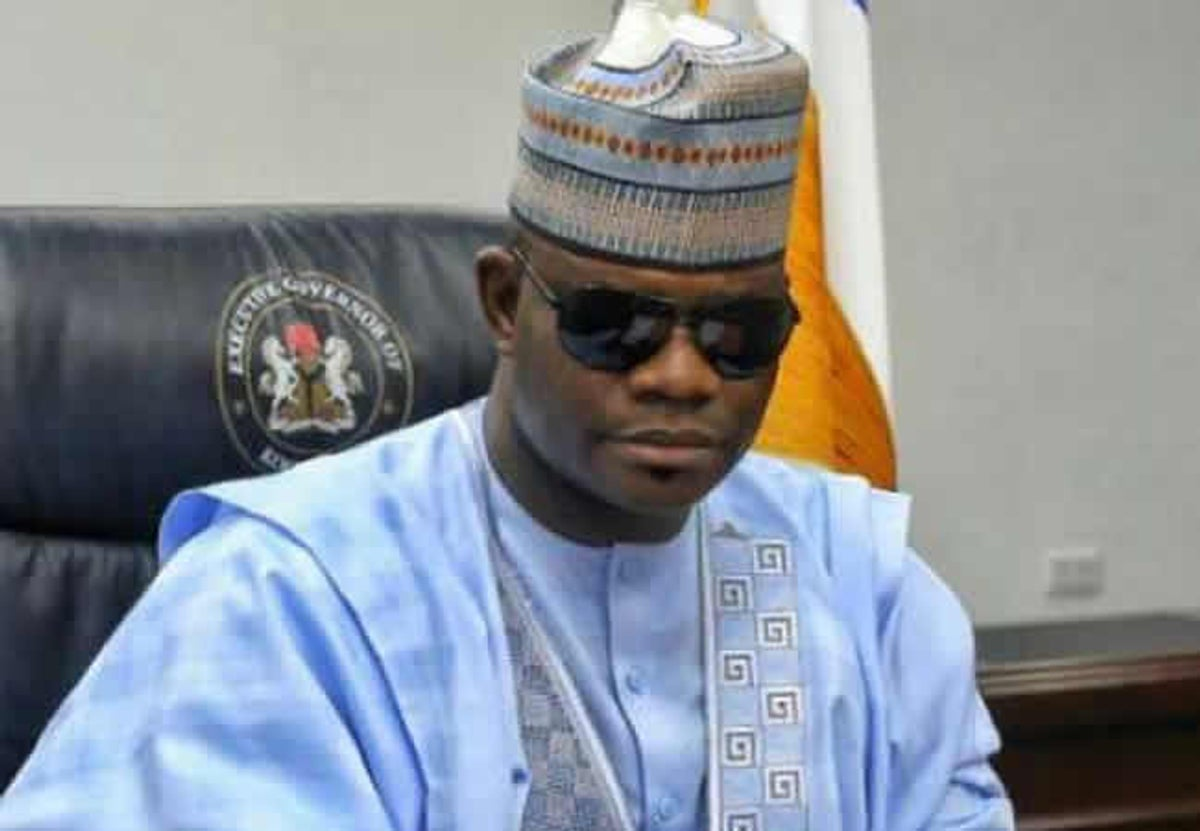 Governor Yahaya Bello of Kogi State