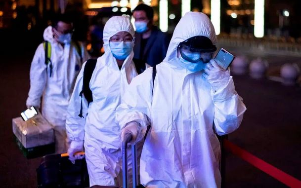 Coronavirus travels