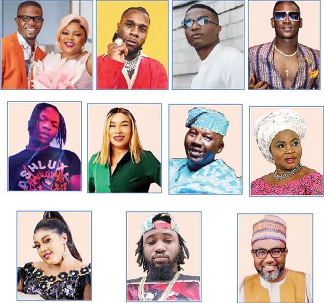 Nigerian artistes in Police trouble