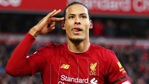 Dutch and English club, Liverpool defender, Virgil Van Dijk