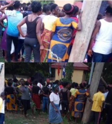 Stray Bullet Hits Noodles Seller As Police Allegedly Fire Shots To Disperse Protesting Women In Cross River