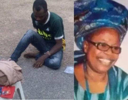 Abegunde Olaniyi confessed to the crime