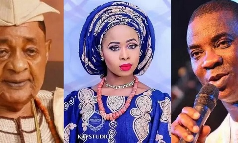 KWAM 1 has opened up on alleged relationship with Alaafin of Oyo's youngest wife