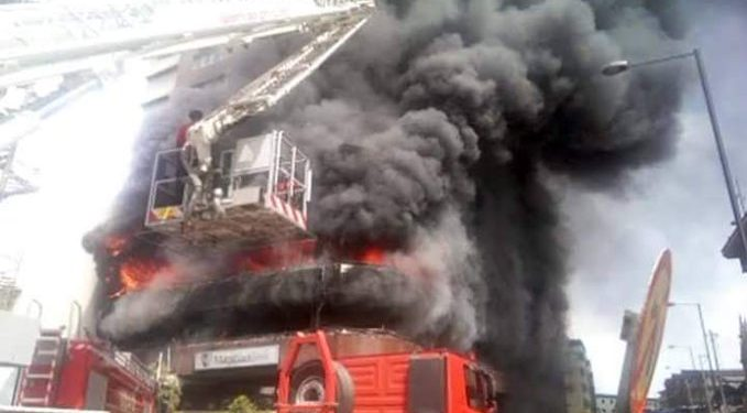 Fire destroys CBN office in Jos