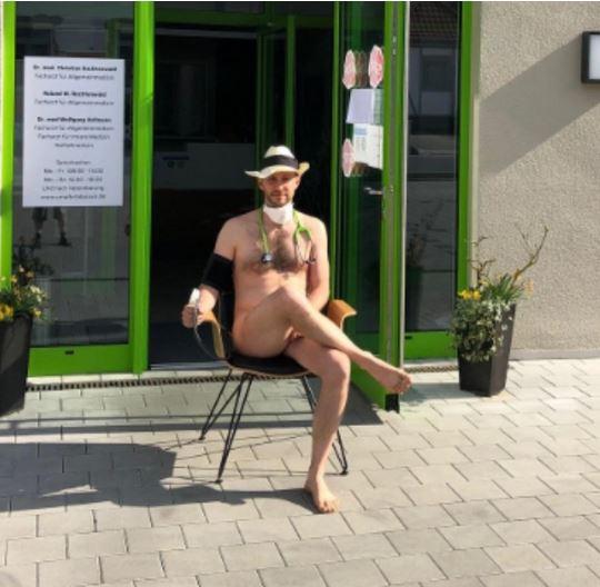 German doctors protest