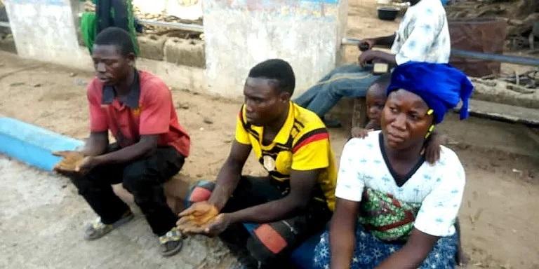 Togolese arrested