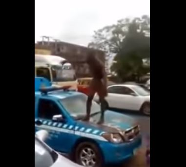 The man involved in an altercation with FRSC officials in Benin
