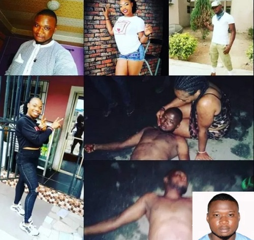 Auwal Sulaiman was stabbed to death by the girlfriend