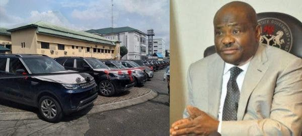 Governor Nyesom Wike gives cars to judges in the state