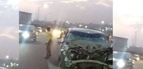 Car accident in Lagos