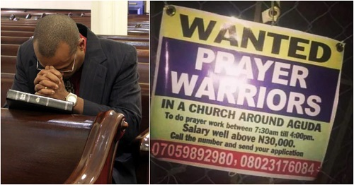 The church is in need of prayer warriors