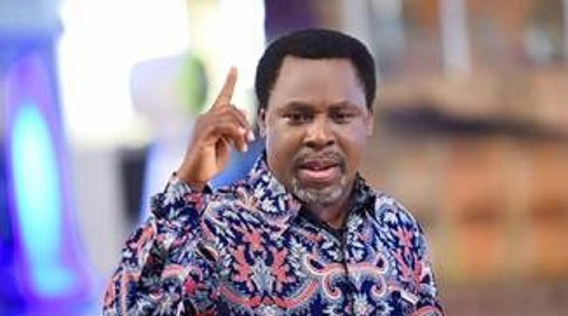 Synagogue Church Of All Nations (SCOAN) Prophet TB Joshua