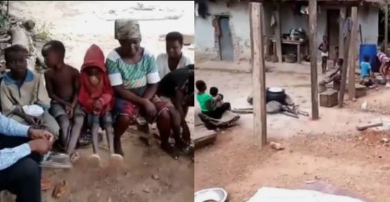 The woman and her children are begging the public for help