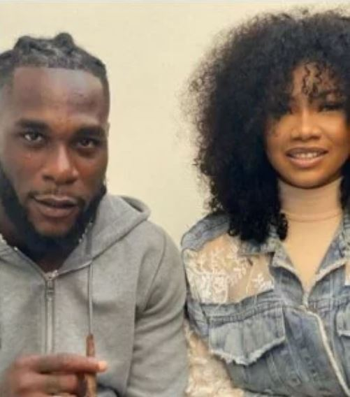Burna Boy and Tacha
