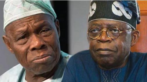 Olusegun Obasanjo and Bola Tinubu