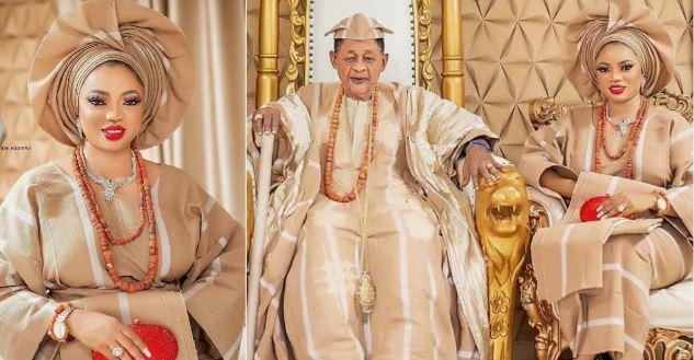 Queen Anuoluwapo Adenike and husband, Alaafin aof Oyo